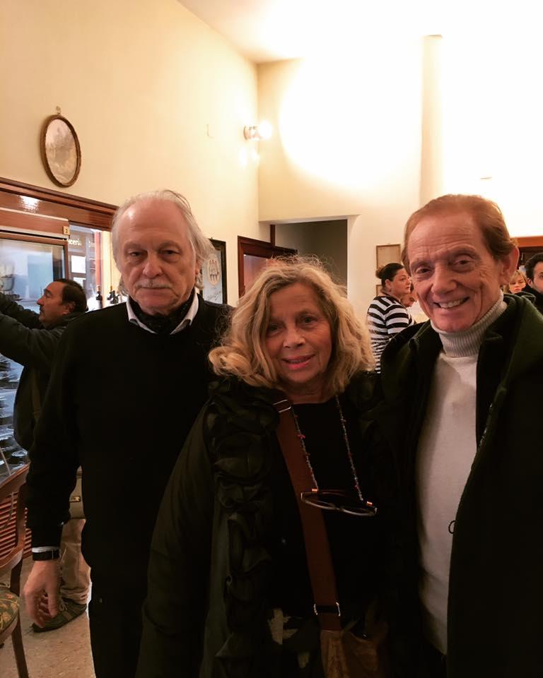 Mario Pantaleone con Osvaldo bevilacqua