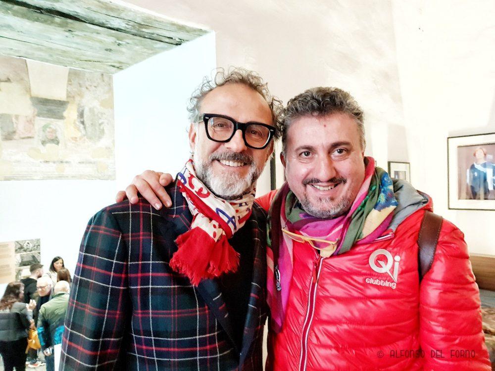 Massimo Bottura e Pasquale Torrente