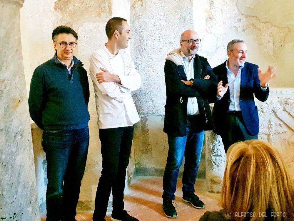 Nicolangelo Marsicani, Andrea Pansa, Pino Adinolfi e Raffaele Di Meo