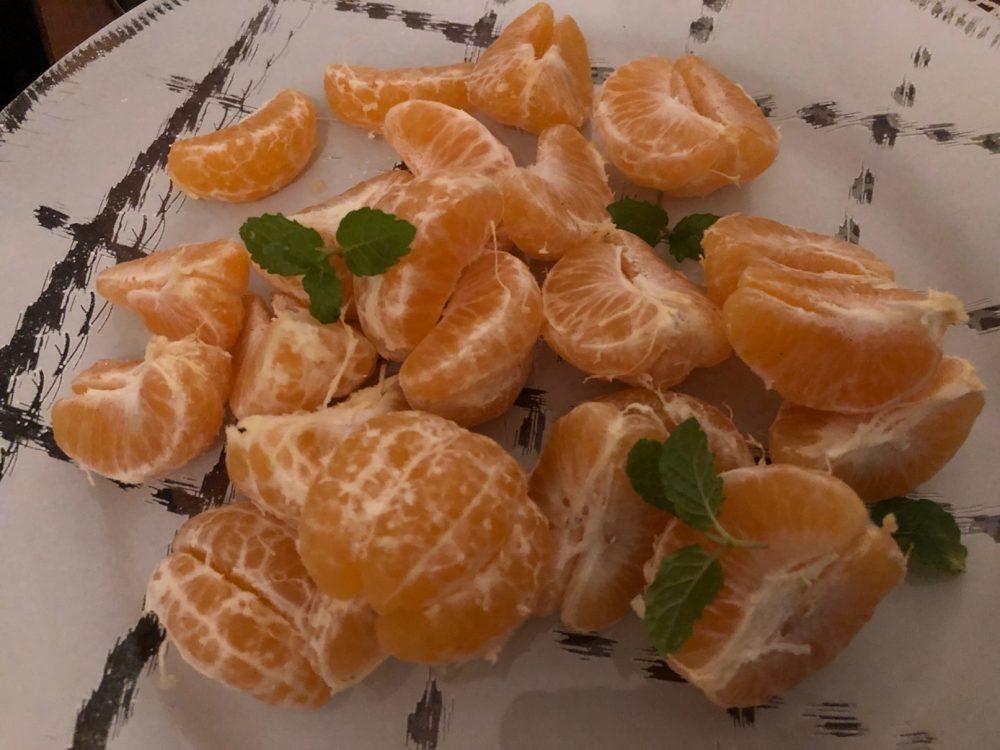 O Ca Bistro', mandarini
