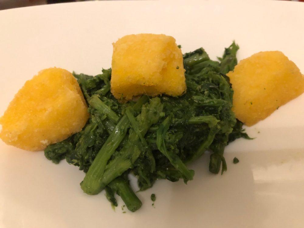 O Ca Bistro', polenta e friarielli