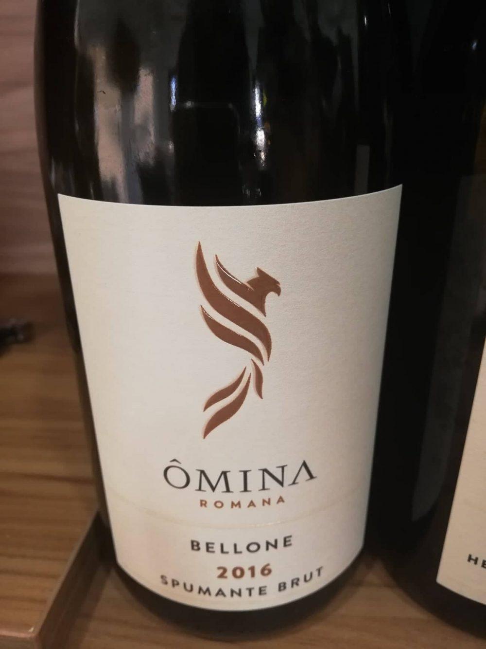 Bellone 2016, lo spumante