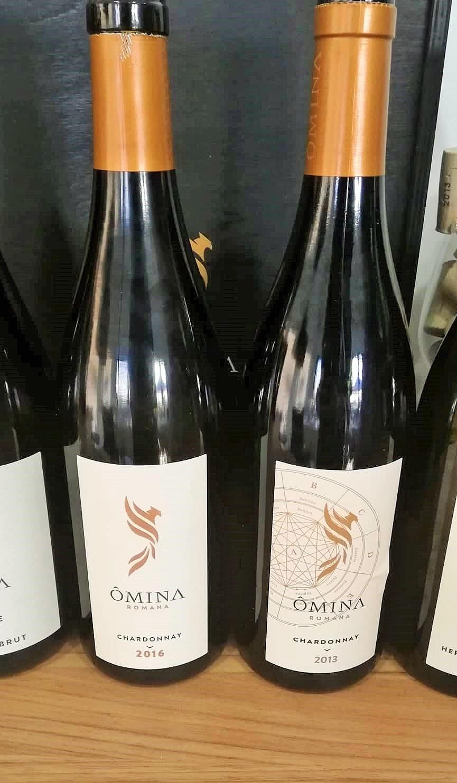 Chardonnay Omina Romana e Ars Magna