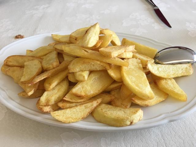 Orto Dacri', patate fritte