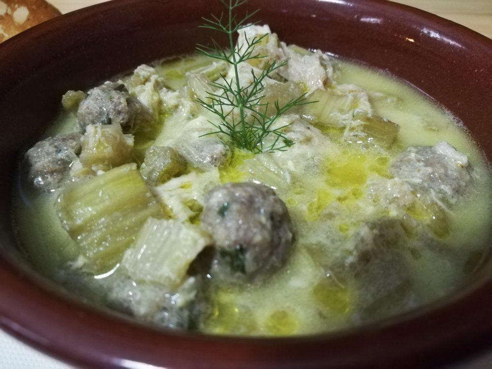 Osteria Centouno - La Zuppa di Cardone alla Beneventana