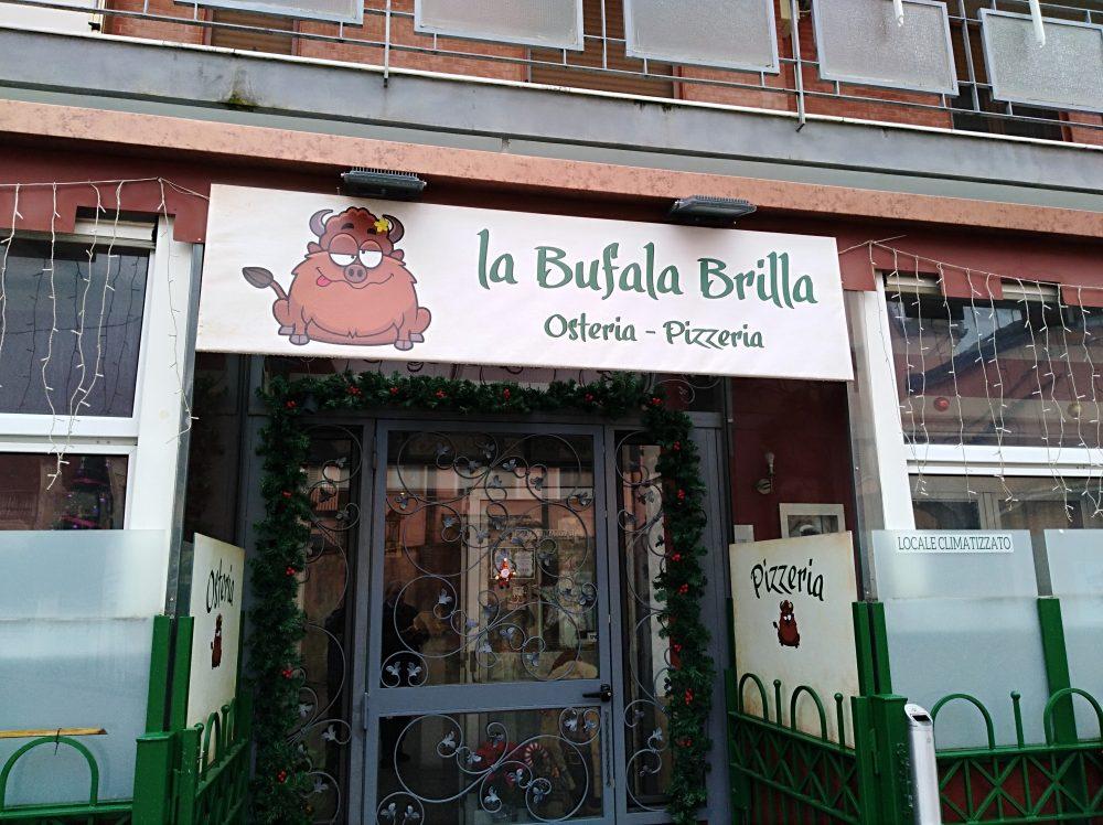 Osteria Pizzeria La Bufala Brilla Ingresso
