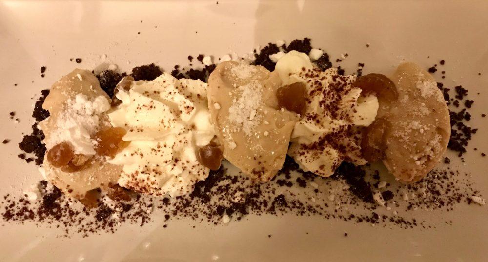Osteria della Buona Condotta, Ornago, la loro versione del Monte Bianco