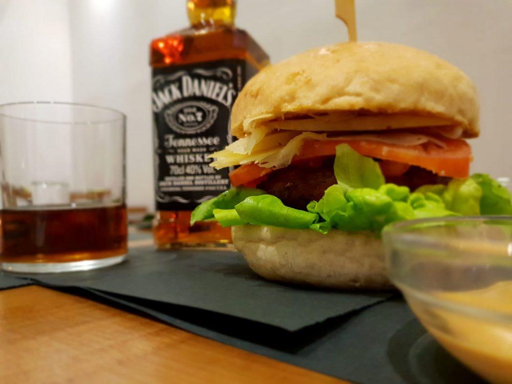 Panino D'Autore - Panino Jack Daniels Burger