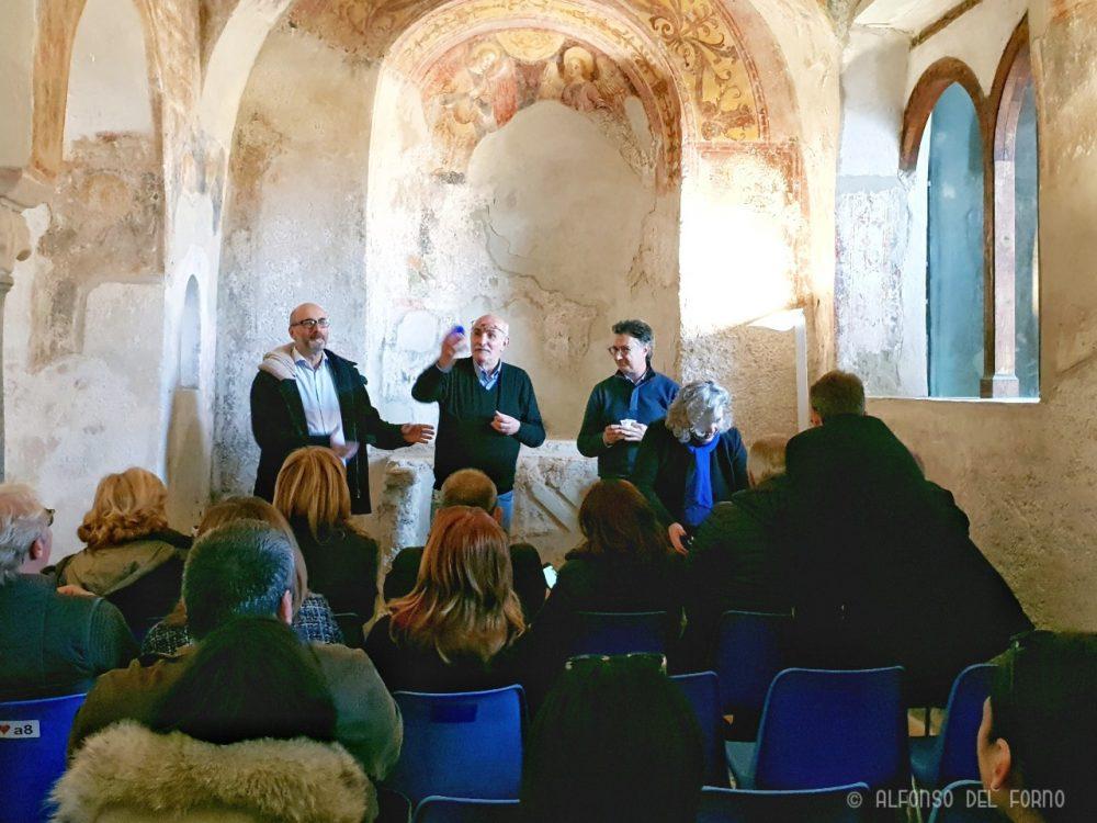 Pino Adinolfi, Gaetano Avallone e Nicolangelo Marsicani presentano gli oli
