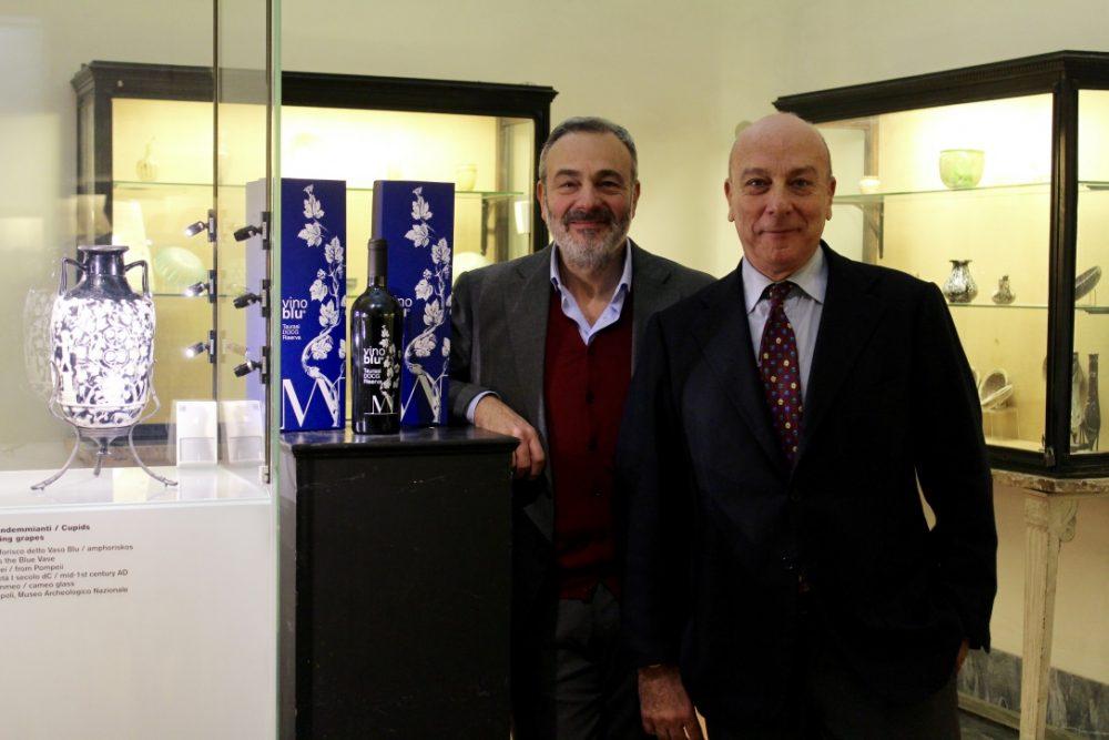 Roberto Di Meo e Paolo Giulierini direttore del MANN