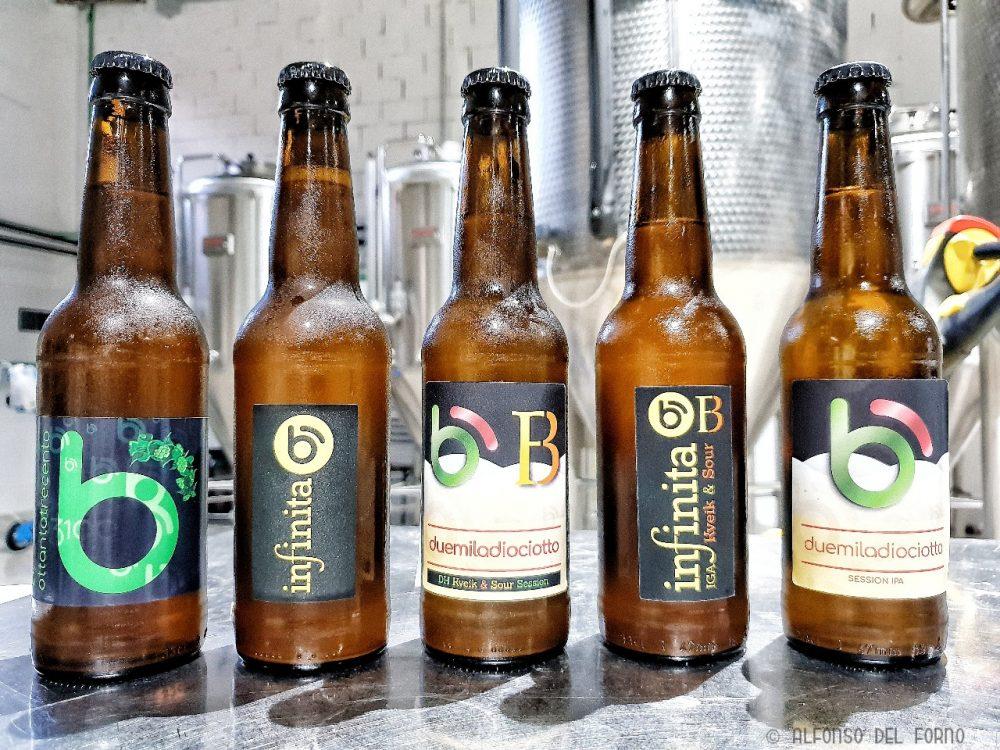 Selezione di birre del Birrificio Irpino