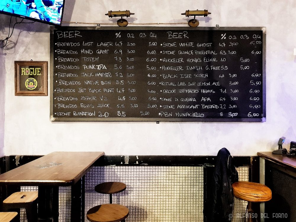 Tap List del Beer Dock Lab
