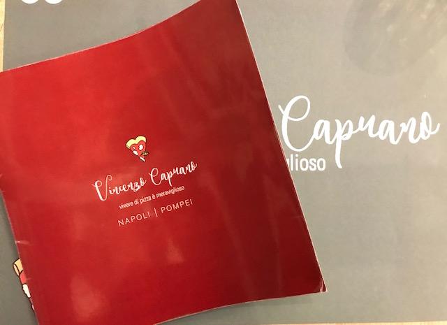 Vincenzo Capuano Pompei - Menu'