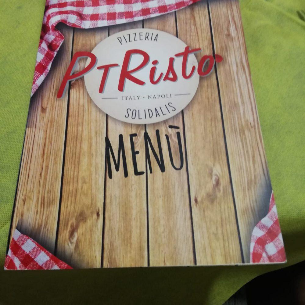 Pt Risto', il menu'