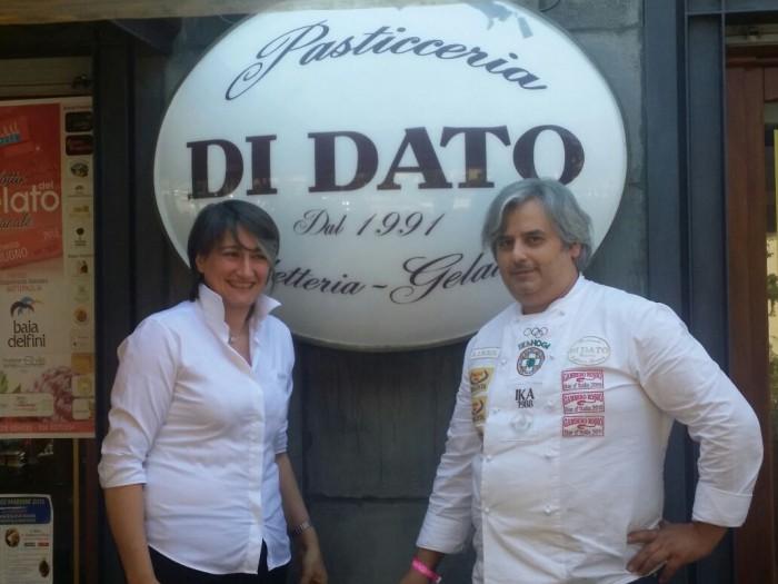 Rita Russo col marito Gerardo Di Dato