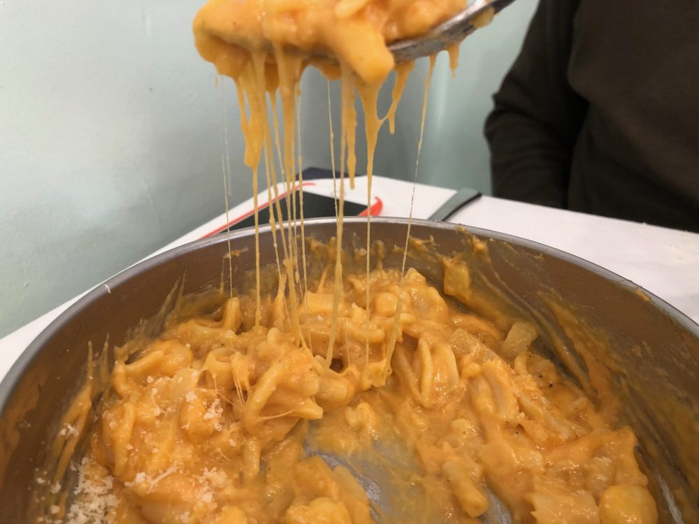 02 Made in Sud, Aicurzio, pasta patate e provola