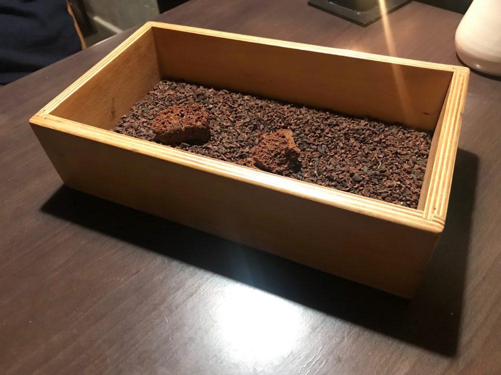Dal carrello dei dolci, cioccolato