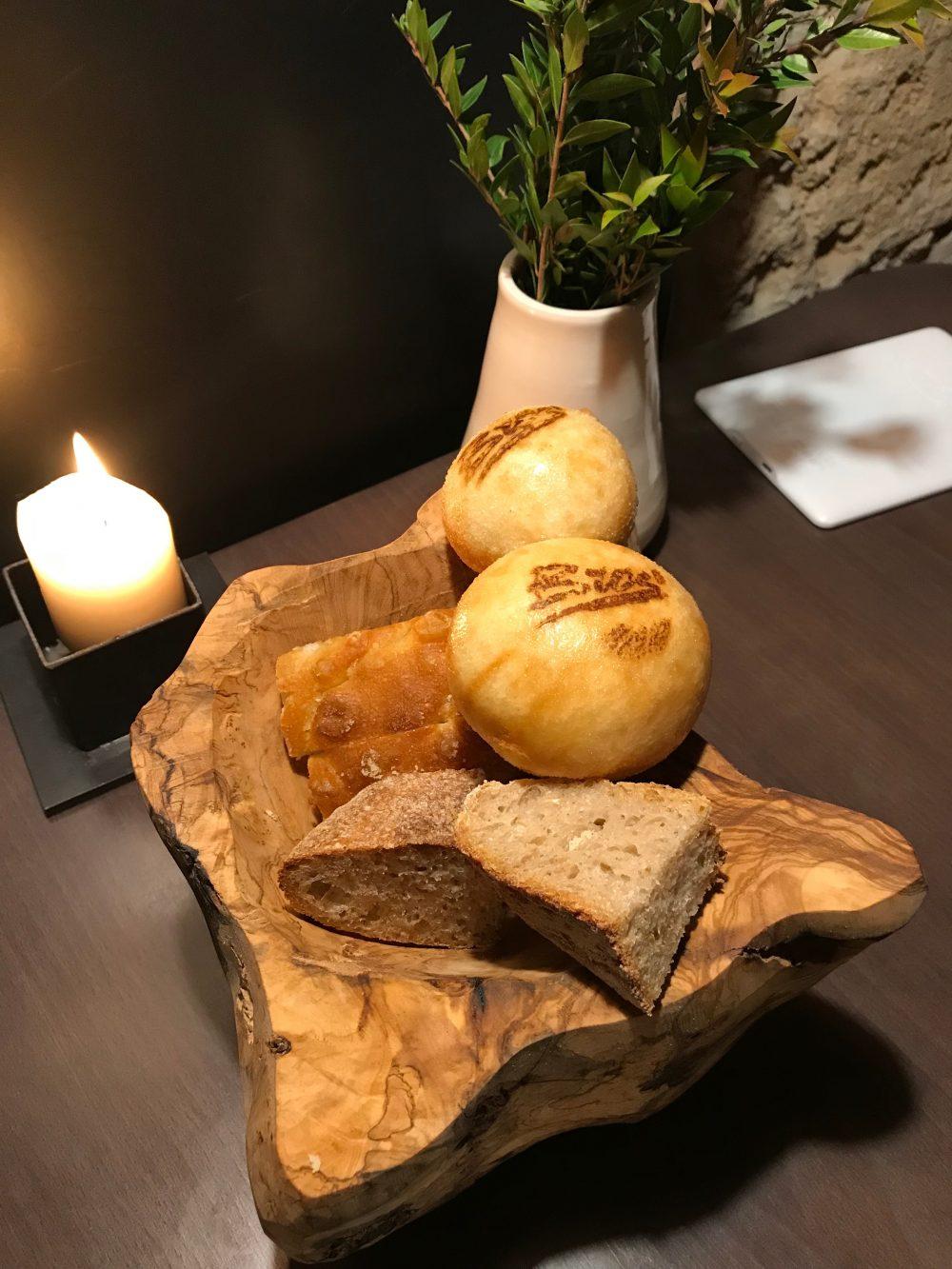 Bros, cestino del Pane con Bao