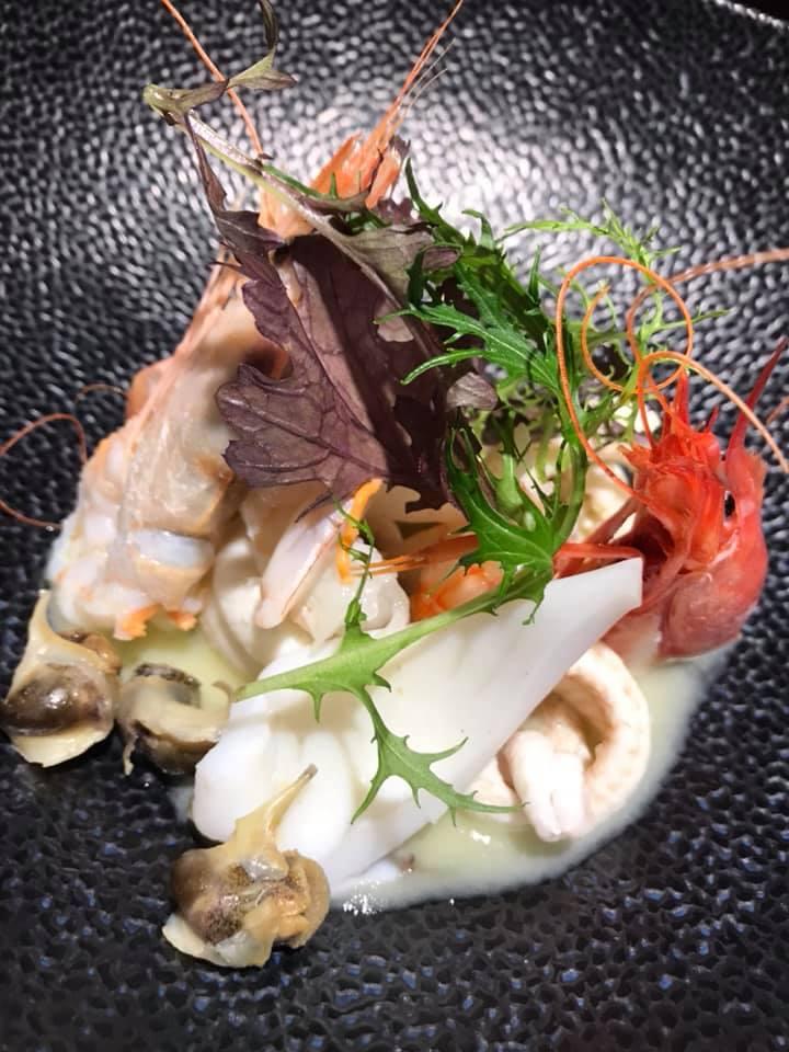 Punto Nave, insalata di mare
