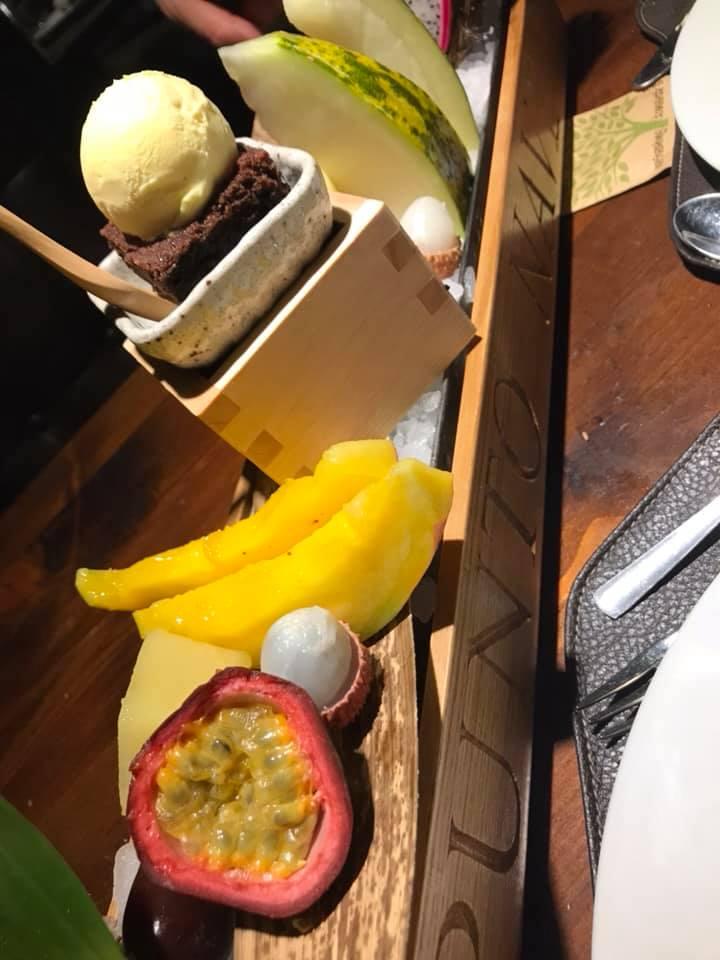 Punto Nave, frutta