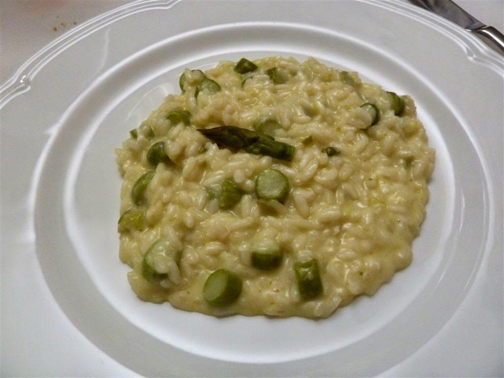 25 Sassi della Luna, Cenate Sopra, risotto con asparagi