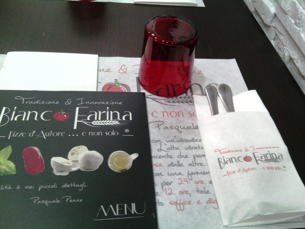 Bianco Farina, La mise en place