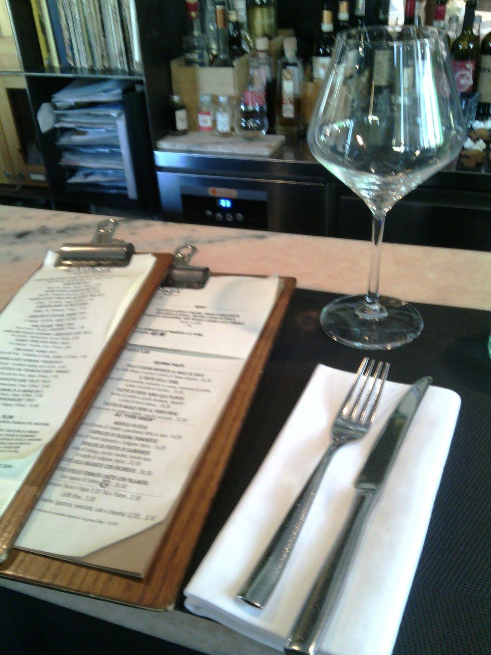 Ratana, La carta stagionale dei piatti