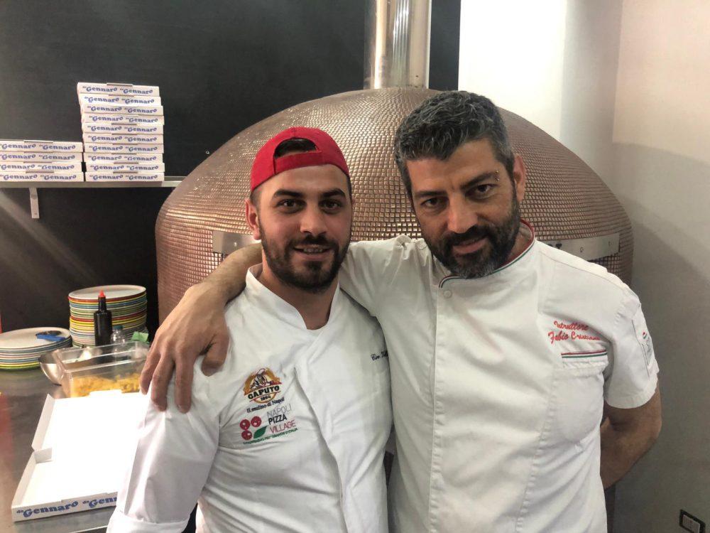 Pizzeria Da Gennaro, Fabio Cristiano