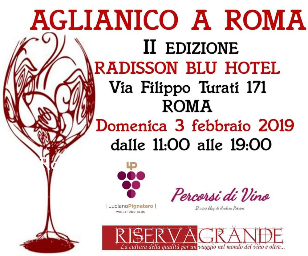 Aglianico a Roma 3 febbraio 2019