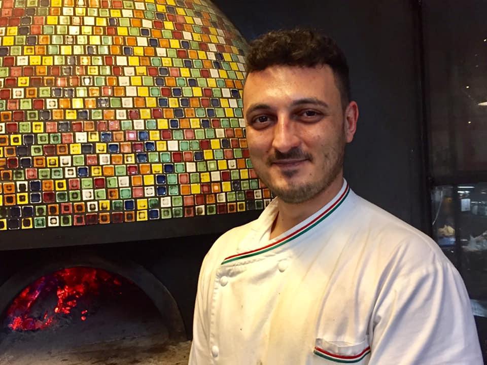 Alessandro Splendori al forno di Proloco Trastevere
