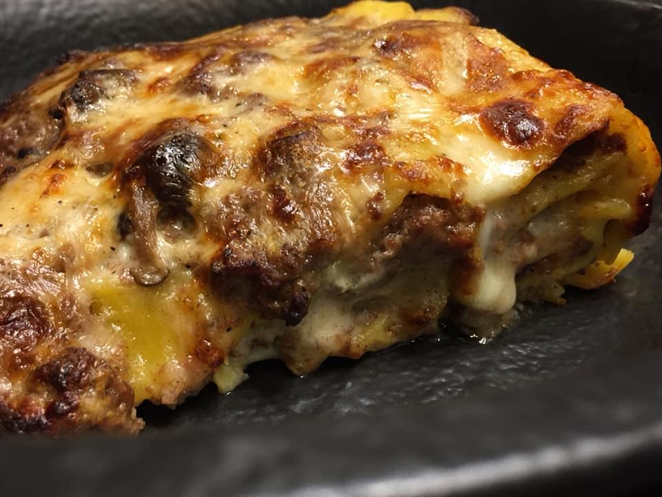 Brado Roma, la lasagna