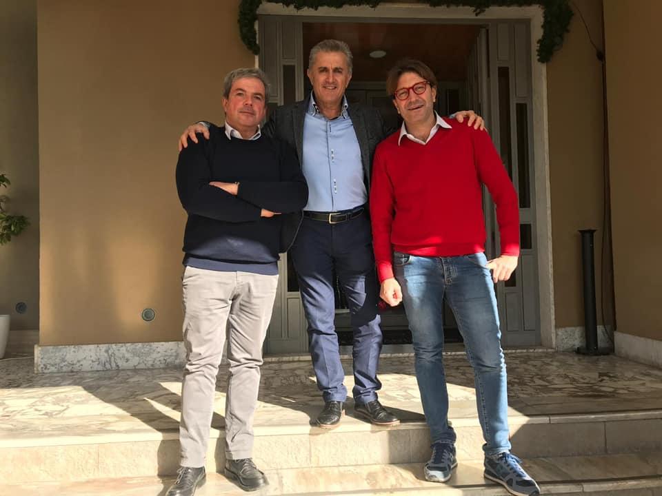 Salerno: Luigi Maffini, Andrea ferraioli e Mario Mazzitelli