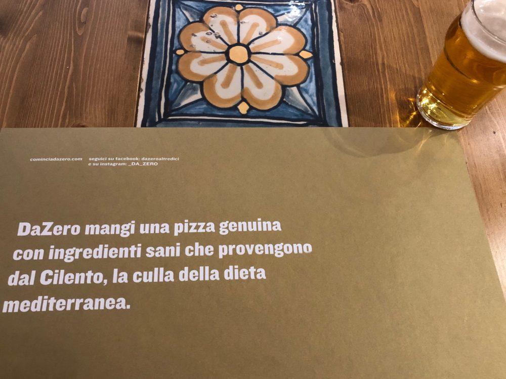 Da Zero, la dichiarazione d'intenti in Italiano...