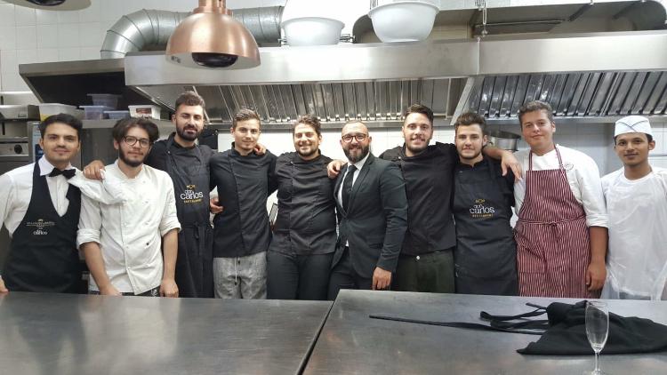 Don Carlos - Nicola Lanzi, Clemente Vigliotti e staff