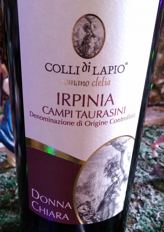 Donna Chiara Irpinia Campi Taurasini Doc 2016 - Colli di Lapio Clelia Romano