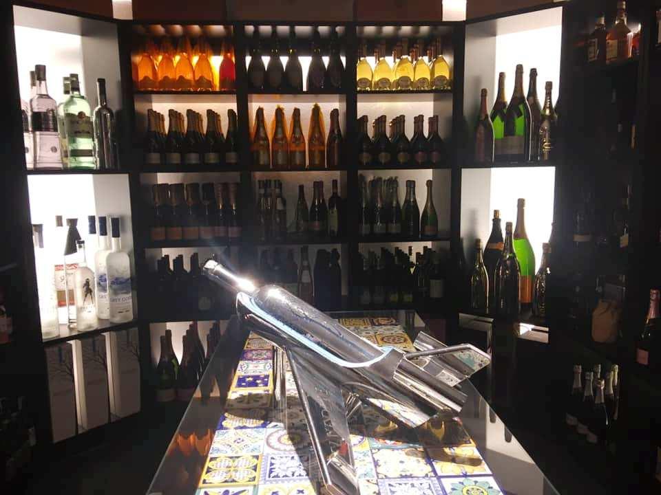 La Champagne Cellar