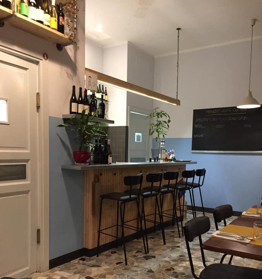 Menabo' Vino e Cucina, il banco