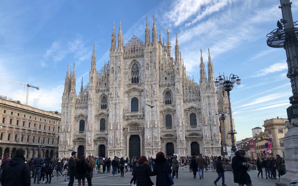 Milano, quattro gennaio meno quattro