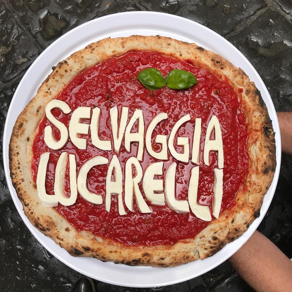 Pizza Selvaggia Lucarelli
