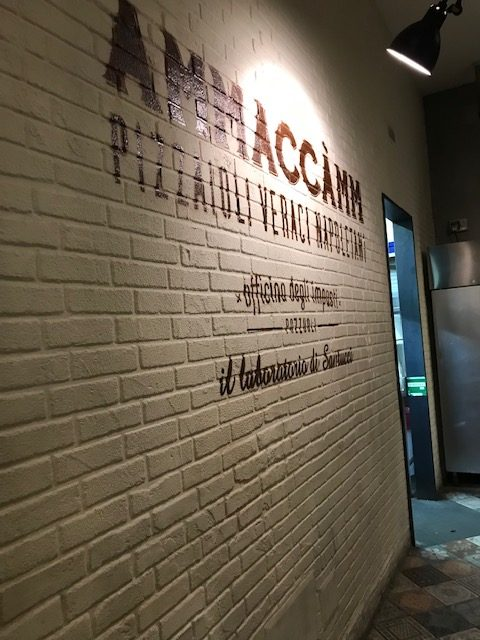 Pizzeria Ammaccamm - Ambiente