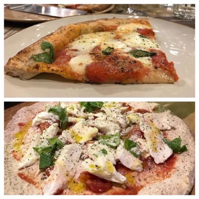 Pizzeria Ammaccamm - impasto e selezione della Pizza Santucci