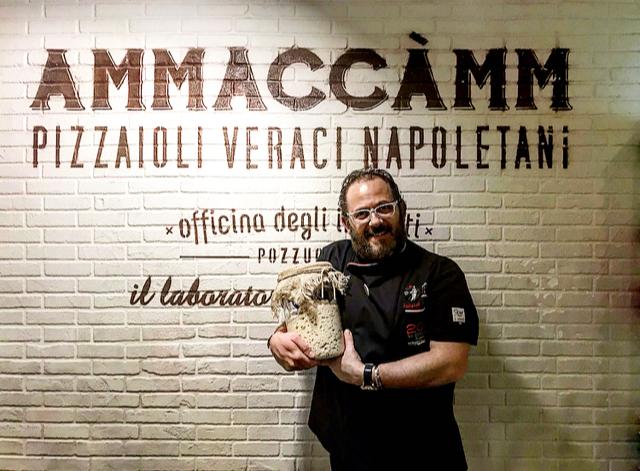 Pizzeria Ammaccamm - Salvatore Santucci