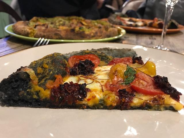 Pizzeria Ammaccamm - Sezione della pizza 'Nduja zuccata