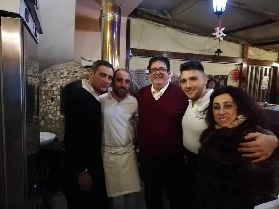 Tramonti, pizzeria La Regina