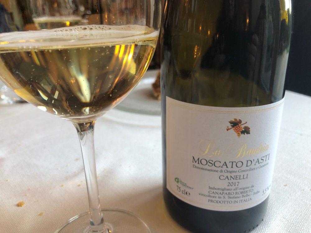 Trattoria Visconti, Moscato d'Asti