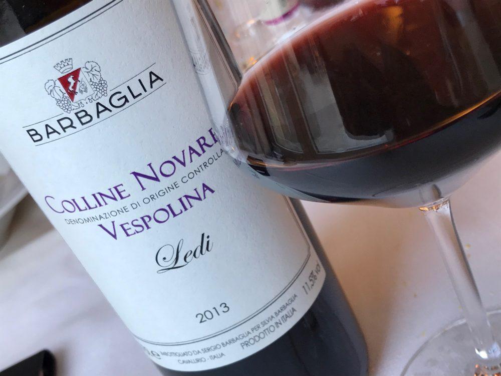 Trattoria Visconti, Vespolina, vitigno autoctono piemontese