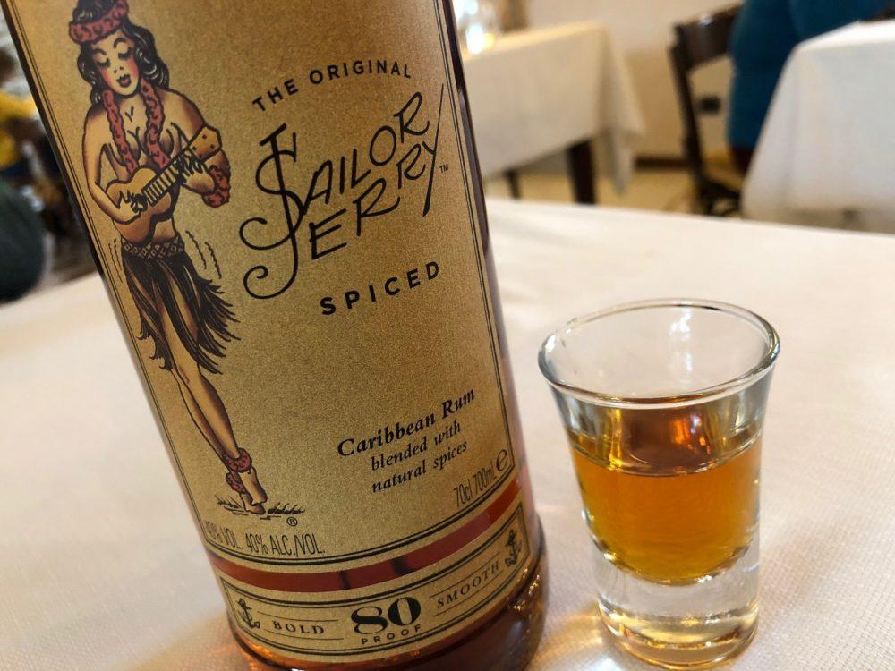 Trattoria Visconti, il Rum