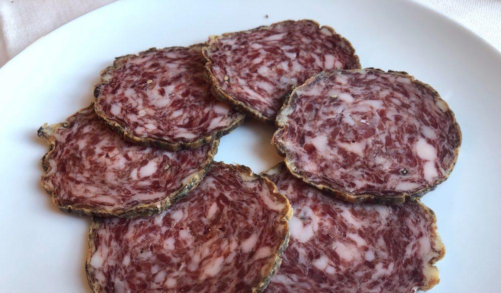 Trattoria Visconti, salame nostrano