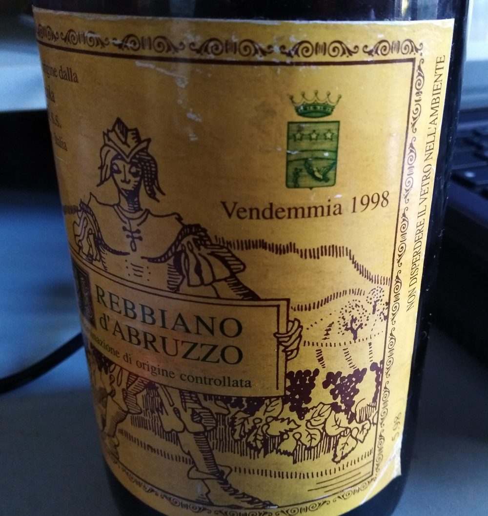 Trebbiano d'Abruzzo Doc 1998 Valentini