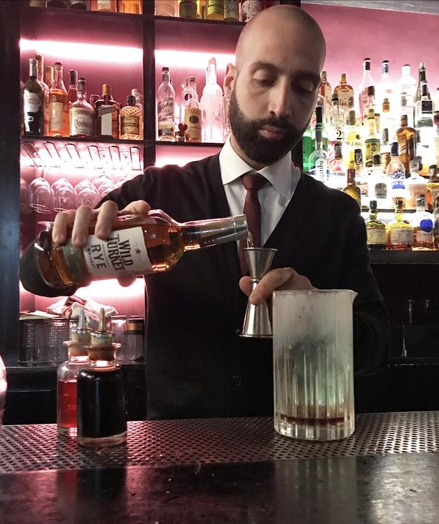 Vieux Carre' - Biamino Fusco, proprietarioe maestro bartender